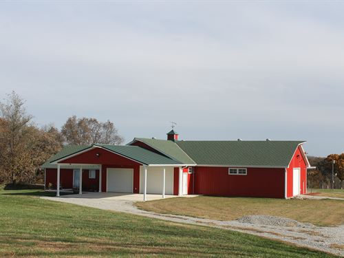Cameron Mo 40 Acre Estate For Sale : Cameron : Clinton County : Missouri