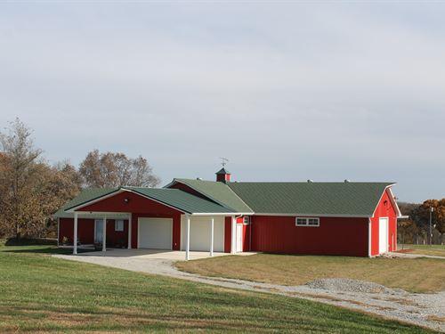 Cameron Mo 40 Acre Estate For Sale : Cameron : Clinton County : Missouri