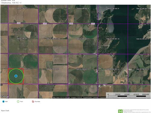 Irrigated Farm Land Caddo County : Fort Cobb : Caddo County : Oklahoma