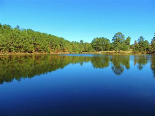 Reduced, 3.5 Ac, Pond On 109 Ac, WI : White Plains : Greene County : Georgia