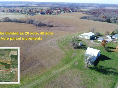 Coming Soon, Ritter Family Farm : Savannah : Andrew County : Missouri