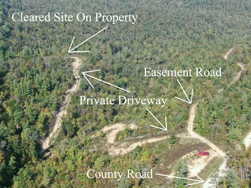 58 Acres Near Eminence Mo : Eminence : Shannon County : Missouri