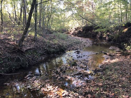 2 Creeks, Hunting Or Homesite : Forsyth : Monroe County : Georgia