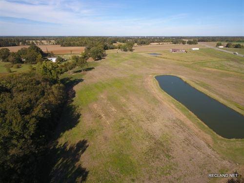 17 Ac, Farm Land & Pond : Crowville : Franklin Parish : Louisiana