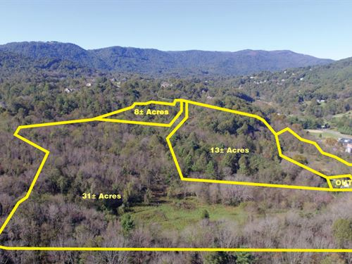 13 Acres With Scenic Mountain View : Roanoke : Virginia