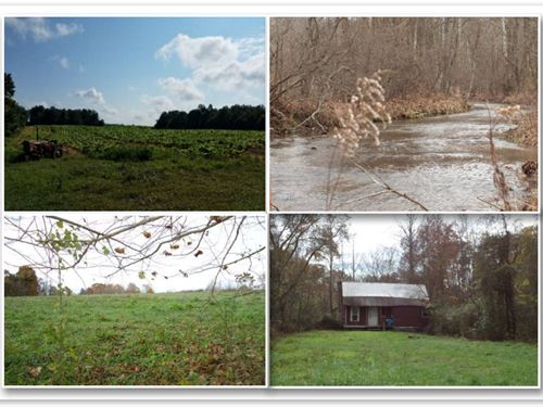 627.50 Ac W/Creeks, Ponds, Cabins : Whitleyville : Clay County : Tennessee