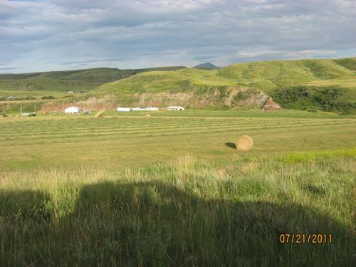 Belt Creek Ranch : Highwood : Chouteau County : Montana