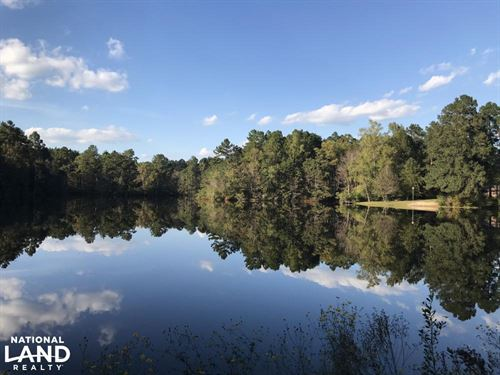 Large Acre Estate With Lake : Sumrall : Lamar County : Mississippi