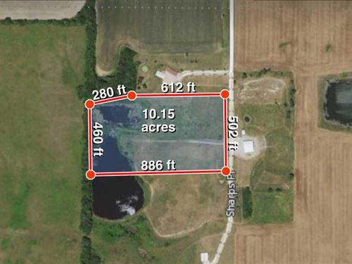 10 Acres M/L Near Mark Twain Lake : Perry : Ralls County : Missouri