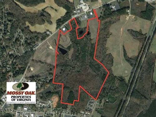 158 Acres of Commercial Land For : South Hill : Mecklenburg County : Virginia