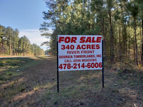 Premier Property On Towaliga River : Forsyth : Monroe County : Georgia