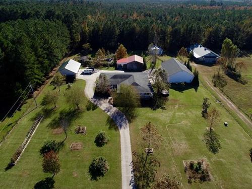 48.75 Ac Home And Horse Farm : Washington : Beaufort County : North Carolina