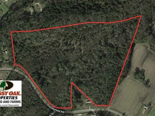 Under Contract, 30.6 Acres of Hun : Whiteville : Columbus County : North Carolina