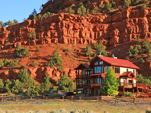 Red Canyon Ranch : Thermopolis : Hot Springs County : Wyoming