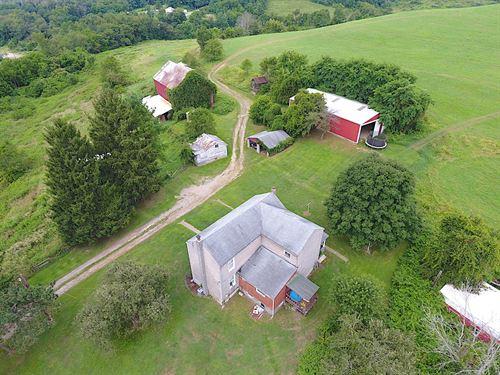 Sr 152, 137 Acres : Dillonvale : Jefferson County : Ohio