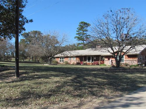 Poultry Farm + 45 Rolling Acres : Quitman : Wood County : Texas