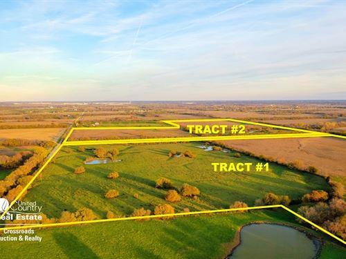 Tillable Farmland & Pasture Auction : Edgerton : Johnson County : Kansas