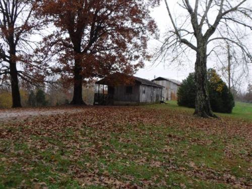 62.50 Ac Farm, Cabin, Barn, Creeks : Baxter : Putnam County : Tennessee