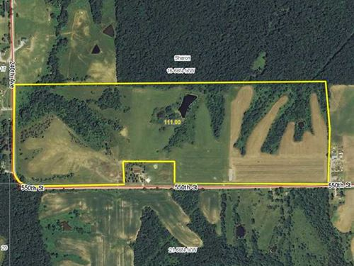 Land For Sale In Appanoose County : Centerville : Appanoose County : Iowa