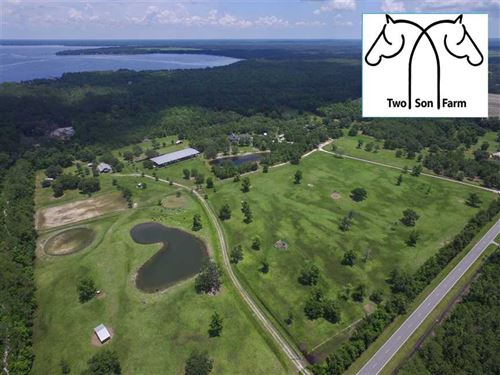 100-Acre Horse Farm in St, Johns : Saint Augustine : Saint Johns County : Florida
