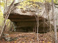 Private 96.66 Acre Retreat : Pikeville : Bledsoe County : Tennessee