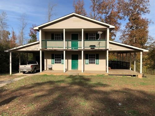 Secluded 4 Bdr, Country Home, 10 ac : Lexington : Henderson County : Tennessee