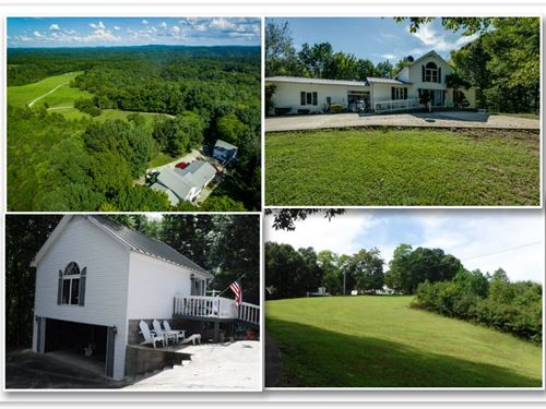 15+ Ac Farm, 2 Story Custom Home : Gainesboro : Jackson County : Tennessee