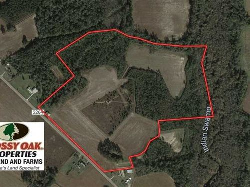 Under Contract, 47 Acres of Resid : Fairmont : Robeson County : North Carolina