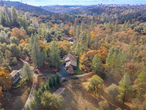 20 Ac+ Horse Property, Craftsman : Penn Valley : Nevada County : California