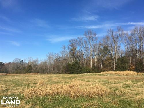Beautiful Farmland With Woods & Pon : Pauline : Spartanburg County : South Carolina