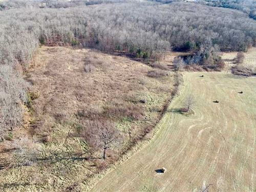46 Acres With I-44 Frontage : Leasburg : Crawford County : Missouri