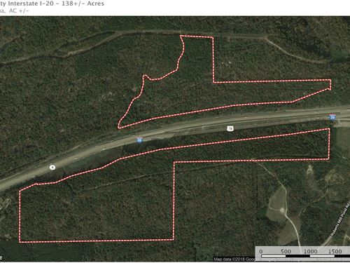 138 Acres Investment I-20/Pell City : Pell City : Saint Clair County : Alabama