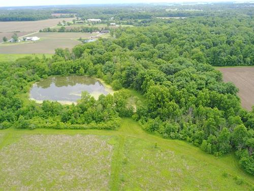 10 Acre Property That Offers Multi : Ossian : Wells County : Indiana
