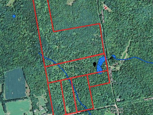 Land Lot For Sale in Garland, Maine : Garland : Penobscot County : Maine