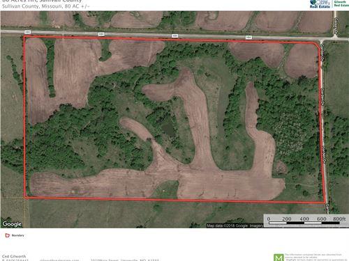 Land Green City, MO Hunting/Row : Green City : Sullivan County : Missouri