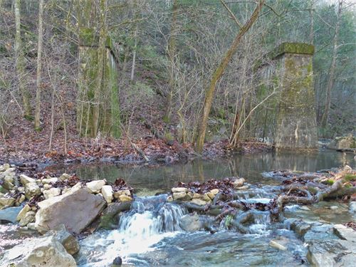 Creeks, Springs, Mines Old Mills : Saint Joe : Searcy County : Arkansas