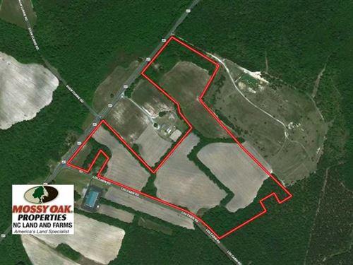 62 Acres of Farm And Hunting Land : Laurinburg : Scotland County : North Carolina