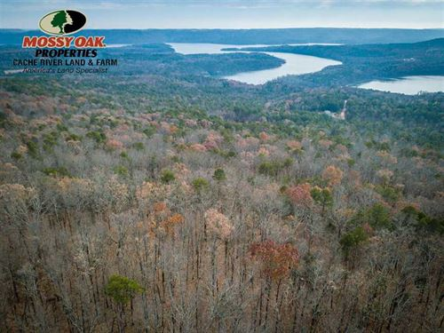 Stunning Property Overlooking Gree : Clinton : Van Buren County : Arkansas