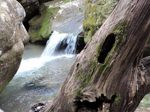 Acreage Views, Waterfall, Bluffs : Jasper : Newton County : Arkansas