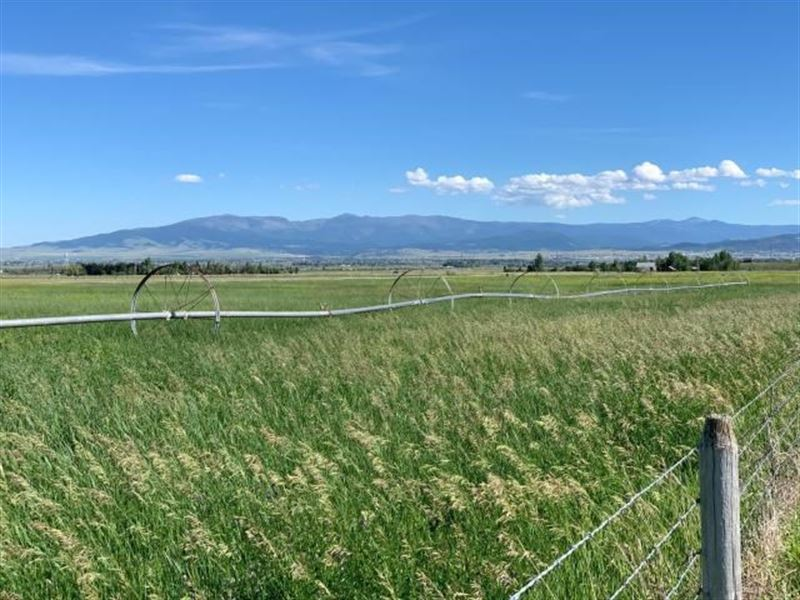 Farm Land For Sale in Montana : Helena : Lewis And Clark County : Montana