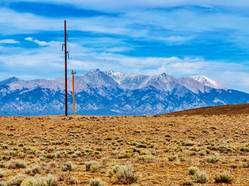 Ranch W Electricity & Road Frontage : San Luis : Costilla County : Colorado