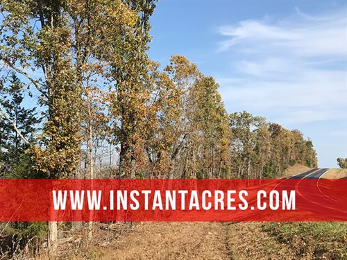 12 Ares With Paved Frontage & Views : Drury : Douglas County : Missouri