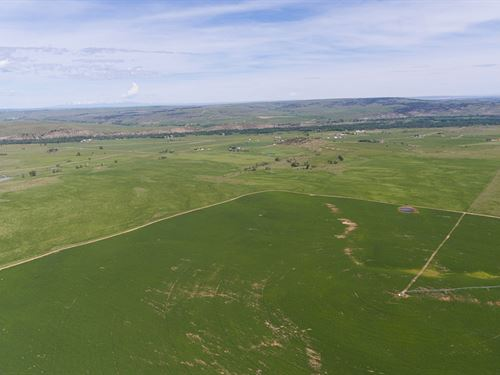 Blanchard Butte Irrigated Ranch : Roberts : Carbon County : Montana