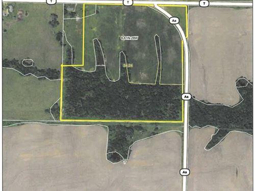 Row Crop, Pasture, Hunting : McFall : Daviess County : Missouri