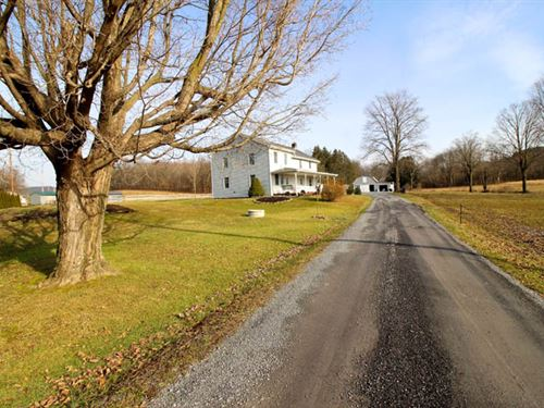 41+ Acres, Home, Horse Barn : Watsontown : Northumberland County : Pennsylvania