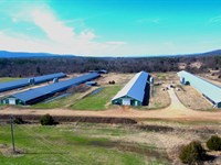 Arkansas Chicken Farm For Sale : Hartford : Sebastian County : Arkansas