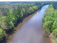 10 Acres Cape Fear River : Kelly : Bladen County : North Carolina