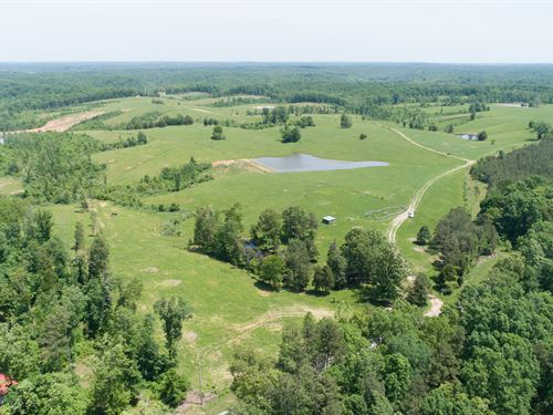 Excellent Cattle Or Hunting Tract : Nunnelly : Hickman County : Tennessee