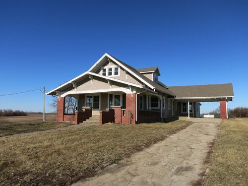 Country Home & Acreage NW Missouri : Bethany : Harrison County : Missouri