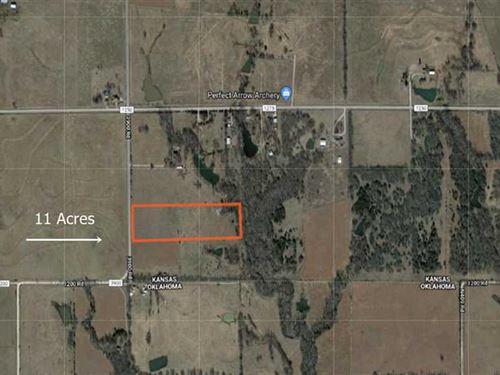 11 Acres in Coffeyville, KS : Coffeyville : Montgomery County : Kansas
